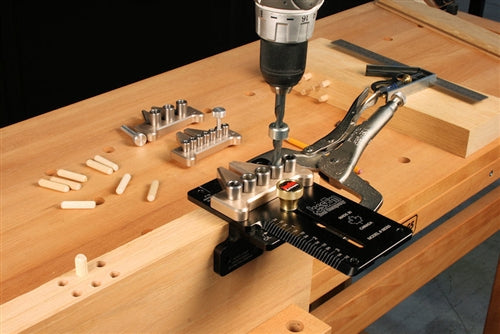 JESSEM 08350-MK DOWELLING JIG MASTER KIT-Marson Equipment