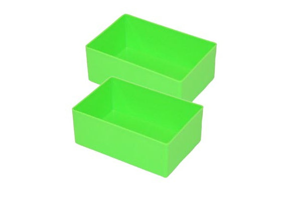 FESTOOL 487660 GREEN PLASTIC COMPARTMENTS (2PK)-Marson Equipment
