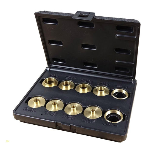 DIMAR WP-T-RINGS 10pc BRASS TEMPLATE GUIDE SET-Marson Equipment