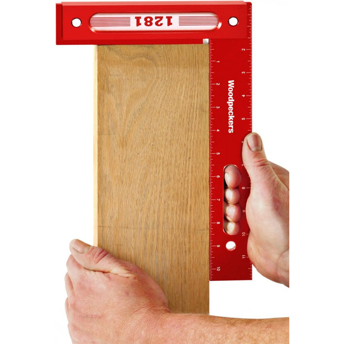 "WOODPECKERS 1281R 12"" PRECISION WOODWORKING SQUARE-Marson Equipment"