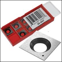 GENERAL 30-007 / KING KW-204 HSS INSERTS FOR BENCHTOP PLANERS/JOINTER - 10 PACK-Marson Equipment