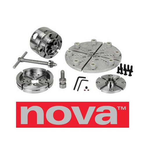 NOVA 48260 G3 WOOD LATHE CHUCK BUNDLE-Marson Equipment