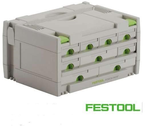 FESTOOL 491985 9-DRAWER SORTAINER-Marson Equipment