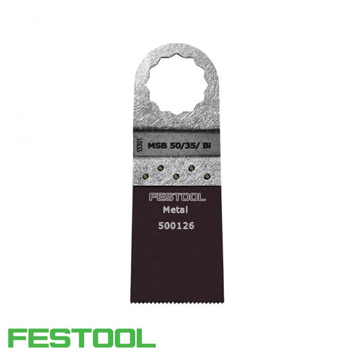 FESTOOL 500126 VECTURO METAL CUTTING BLADE (x1) - 50/35/Bi-Marson Equipment