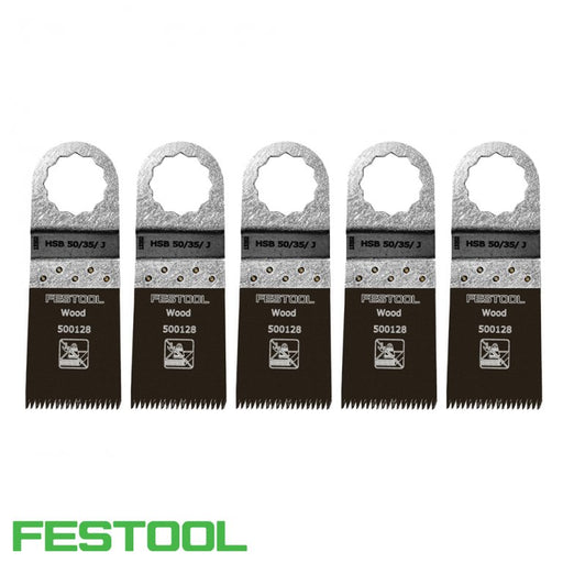 FESTOOL 500142 VECTURO WOOD SAW BLADE (x5) - HSB 50/35/J-Marson Equipment
