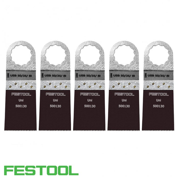 FESTOOL 500144 VECTURO UNIVERSAL SAW BLADE (x5) - USB 50/35/Bi-Marson Equipment