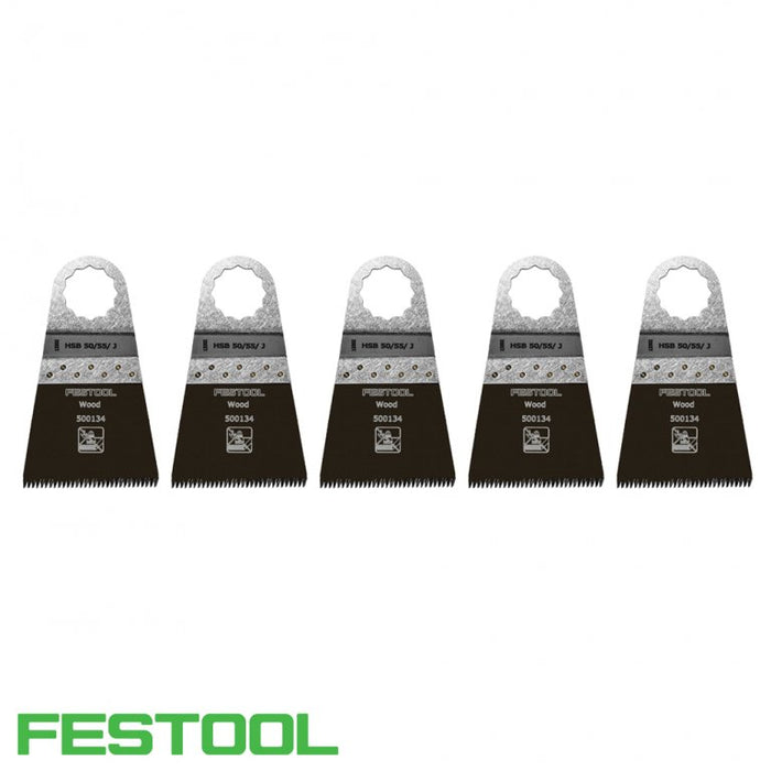 FESTOOL 500148 VECTURO WOOD SAW BLADE (x5) - HSB 50/55/J-Marson Equipment