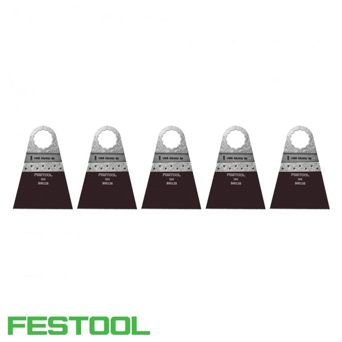 FESTOOL 500149 VECTURO UNIVERSAL SAW BLADE (x5) - USB 50/65/Bi-Marson Equipment