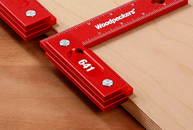 WOODPECKERS 641 PRECISION WOODWORKING SQUARE - INCH-Marson Equipment