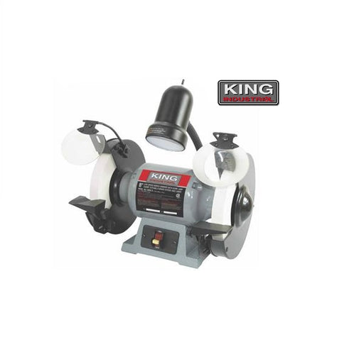 "KING KC-895LS 8"" LOW SPEED BENCH GRINDER-Marson Equipment"