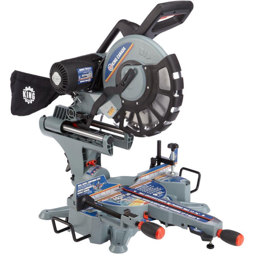 "KING 8390N 12"" Dual Bevel Sliding Miter Saw"