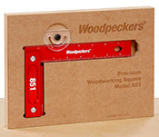 WOODPECKERS 851 PRECISION WOODWORKING SQUARE - INCH-Marson Equipment