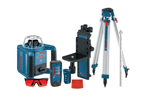 BOSCH GRL300HVCK SELF-LEVELING ROTARY LASER COMPLETE KIT-Marson Equipment