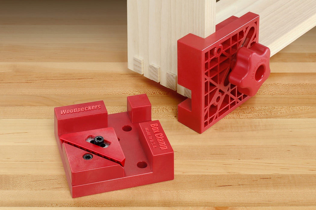 WOODPECKERS BC4-M2X2 BOX CLAMP SET (2PK)-Marson Equipment
