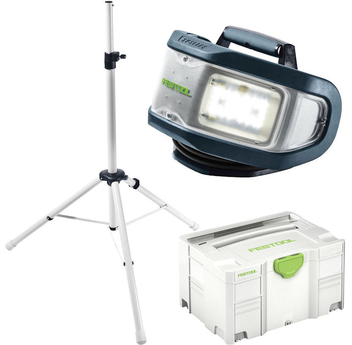FESTOOL 574657 SYSLITE DUO PLUS WORKLITE SET w/ TRIPOD-Marson Equipment