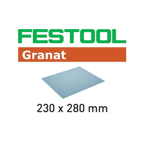 FESTOOL GRANAT 9X11 ABRASIVE SANDING SHEETS - 50PK (40 - 320 GRIT)-Marson Equipment