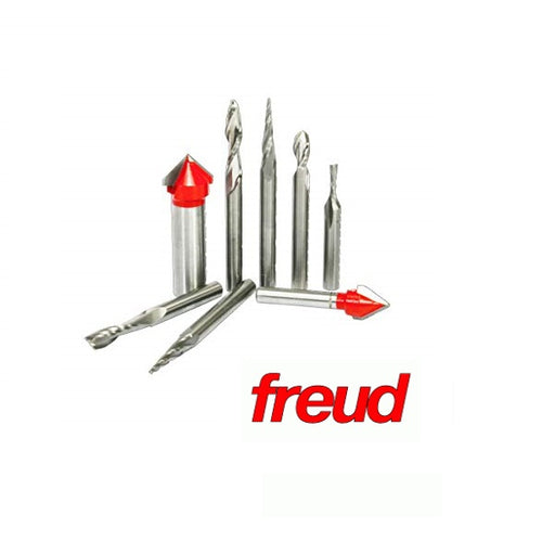 FREUD 87-108 8pc CNC SIGNMAKING ROUTER BIT SET-Marson Equipment