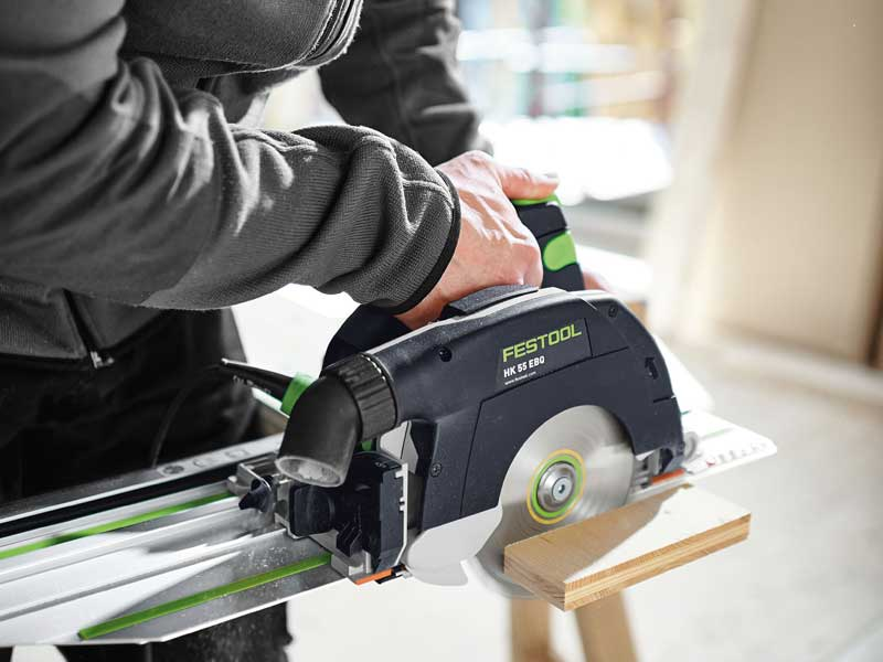 FESTOOL 575085 HK 55 EQ TRACK GUIDED SAW w/ FSK 420 RAIL-Marson Equipment