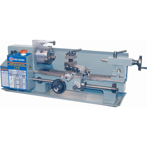 King Kc 0712ml 7 X 12 Mini Metal Lathe