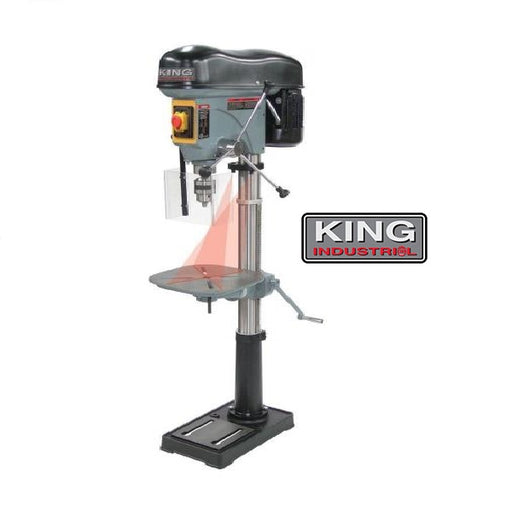"KING KC-119FC-LS 17"" DRILL PRESS w/ 6"" STROKE-Marson Equipment"