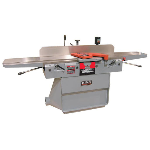 "KING KC-120FX 12"" PARALELLOGRAM JOINTER - 3 KNIFE CUTTERHEAD-Marson Equipment"