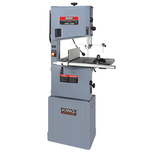 "King KC-1402FX 14"" Wood Bandsaw w/ Circle Cutter"