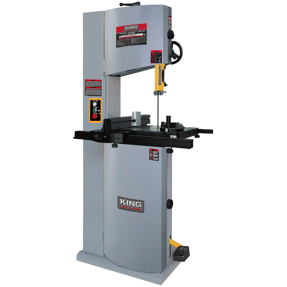 "KING KC-1502FXB 14"" Wood Bandsaw w/ 12"" Resaw Capacity"