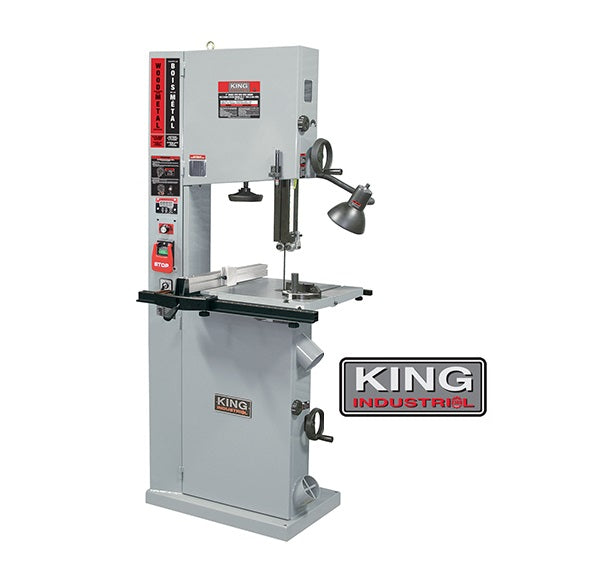 "KING KC-1700WM-VS 17"" WOOD/METAL CUTTING BANDSAW-Marson Equipment"