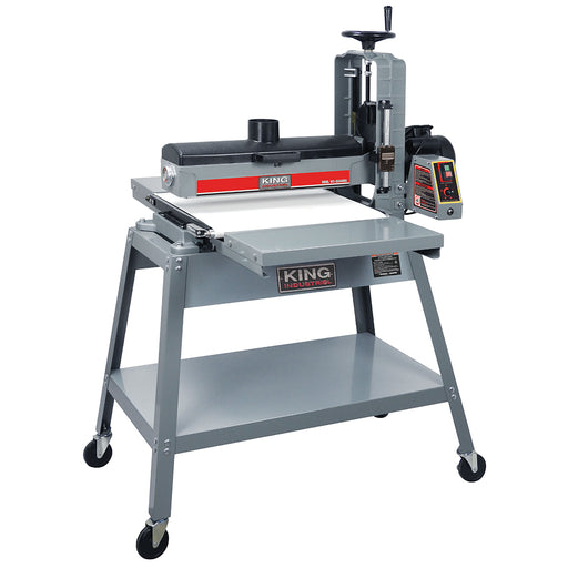 "King KC-2244DS 22"" x 44"" Open-Ended Drum Sander Deluxe Pkg"