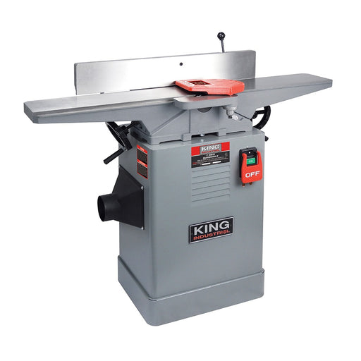 "King KC-65FX 6"" Jointer + Spiral Cutterhead"