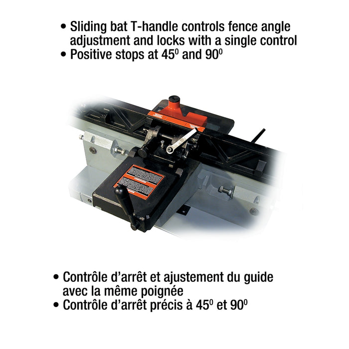 "King KC-75FX 6"" Parallelogram Jointer"