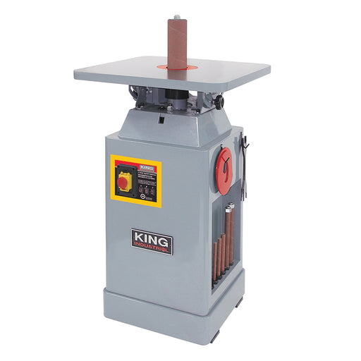 King KC-OVS-FX3 Oscillating Spindle Sander - 1HP