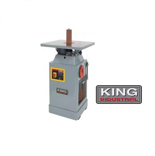 KING KC-OVS-FX3 OSCILLATING SPINDLE SANDER-Marson Equipment