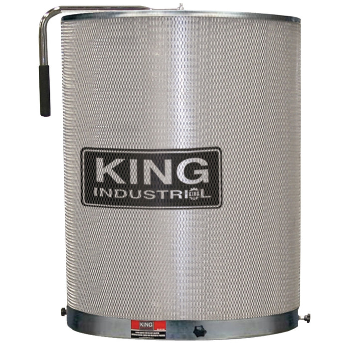 King KDCF-3500 1 Micron Cansiter Dust Collector Filter for 1.5, 2, & 3HP