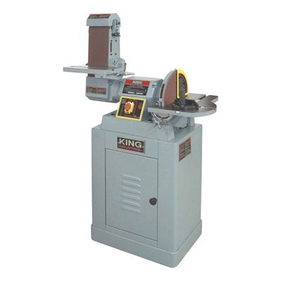 "KING KC-790FX-DC 6x48 BELT / 12"" DISC SANDER w/ DUST COLLECTION-Marson Equipment"