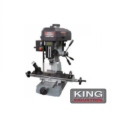 "KING PDM-30 1-1/4"" MILLING DRILLING MACHINE-Marson Equipment"