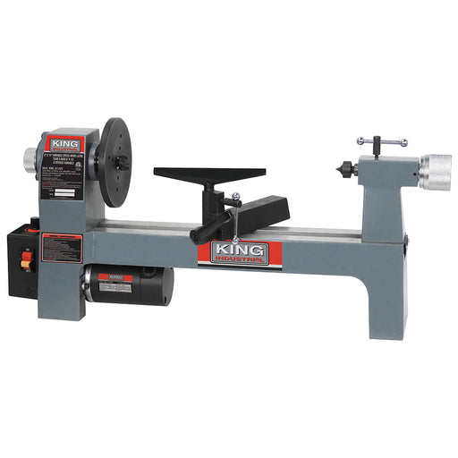 "King KWL-813VS 8"" x 13"" Variable Speed Wood Lathe"