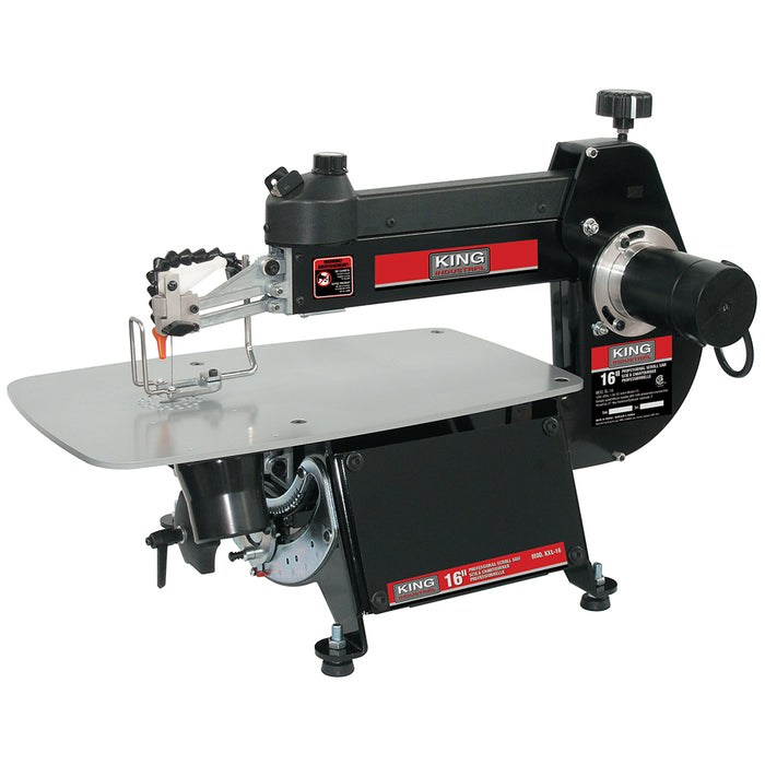 "King Excelsior KXL-16 16"" Professional Scroll Saw"