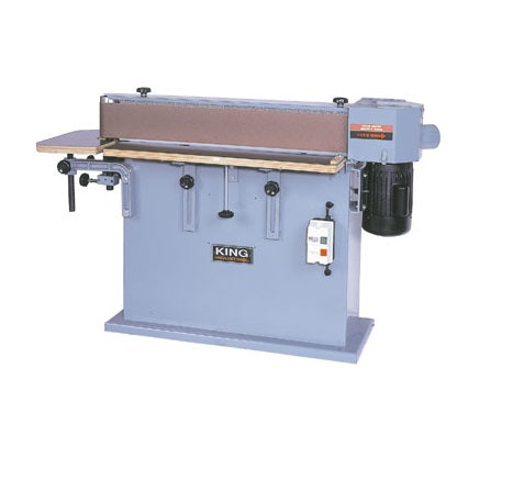 "KING CT-108C 6"" x 108"" EDGE SANDER-Marson Equipment"