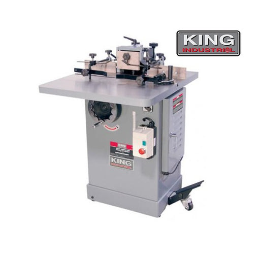 KING KC-351S INDUSTRIAL 3HP WOOD SHAPER-Marson Equipment