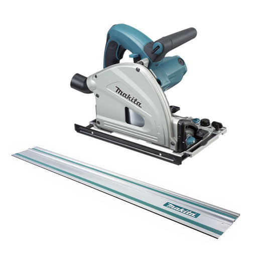 "MAKITA SP6000X1 PLUNGE CUT TRACK SAW w/ 55"" RAIL-Marson Equipment"