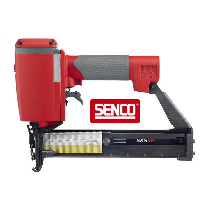 Senco narrow crown stapler twin head shower mixer