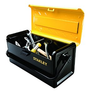 "STANLEY STS19500 ""BIG SPACE"" METAL TOOLBOX - 19""-Marson Equipment"