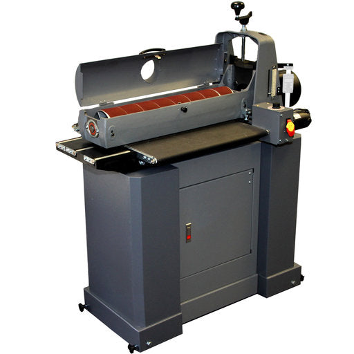 SUPERMAX 25-50 DRUM SANDER w/ ENCLOSED STAND-Marson Equipment