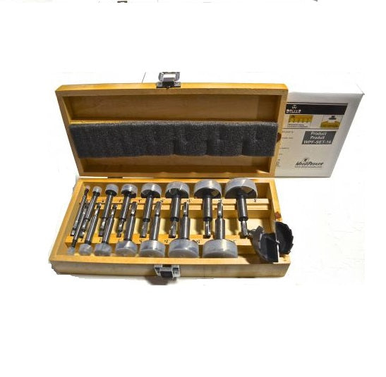 WOODPECKER WPF-SET-16 16 pc FORSTNER BIT SET-Marson Equipment
