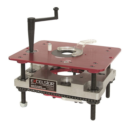EXCELSIOR XL-125 ROUTER LIFT w/ HEIGHT LOCK-Marson Equipment