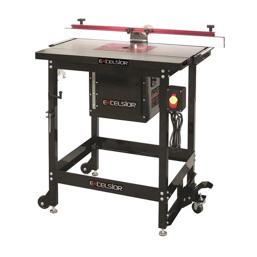 EXCELSIOR XL-200C CAST-IRON ROUTER TABLE KIT w/ LIFT-Marson Equipment
