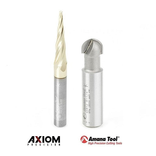 Axiom / Amana ABS303 Carving Bit Set - 2pc