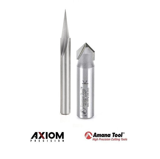 Axiom / Amana ABS305 Signmaking Bit Set - 2pc