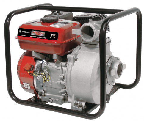 King KCG-2PGN-7 Power Force Gasoline Water Pump - 7HP